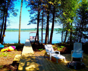 Frankfort Michigan Lake Home Rental Vacation